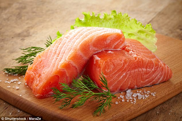 Brain scans reveal for the first time that eating plenty of salmon, mackerel and sardines protects against Alzheimer's by boosting blood flow and memory